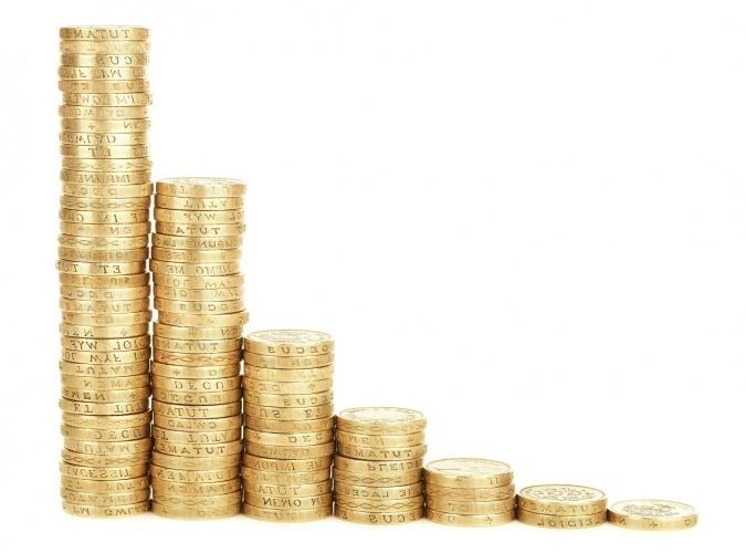 Stapel Münzen - Mietzinsminderung